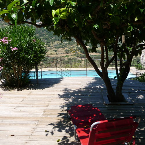 L'ANNEXE – Chambre indépendante au niveau de la piscine