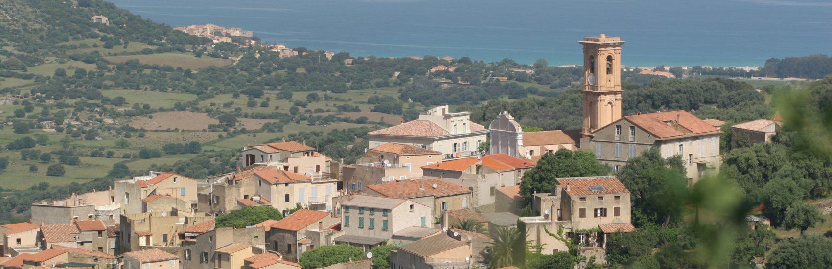 Village d'Aregno haute Corse